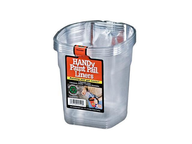Bercom Handy Paint Pail Liners - 6 Count