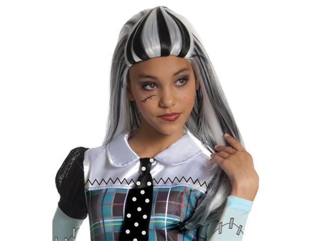 Teen Girls Monster High Wig - Frankie Stein