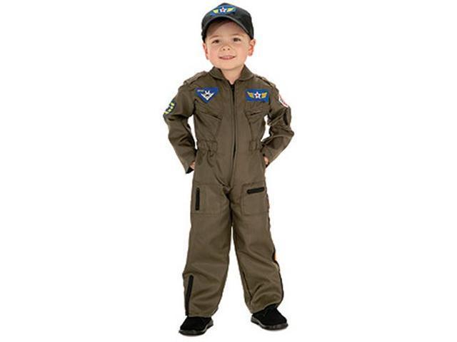 Kid's Air Force Costume - Pilot Boy