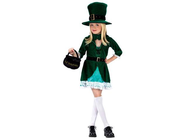 Girls Leprechaun Costume - Lil Leprechaun