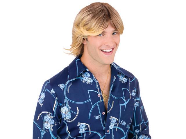 Ladies Man Wig - Blonde