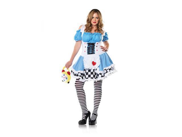Plus Size Alice In Wonderland Costume - Miss Wonderland