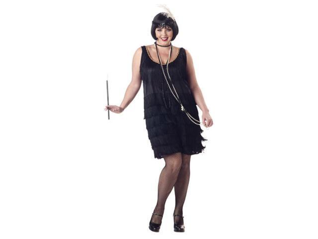 Fashion Flapper Costume - Plus Size