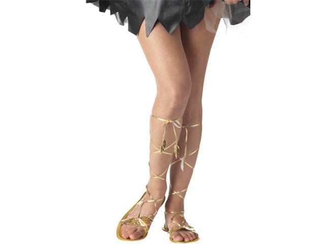 Women's Goddess Sandals - Gold - Size Medium 7-8