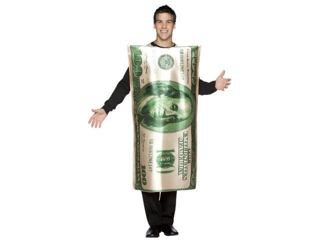 100 Dollar Bill Costume - Adult