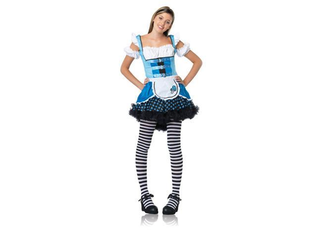 Teen Alice Costume - Magic Mushroom Alice Juniors