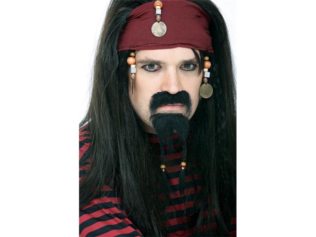 Pirate Goatee - Black