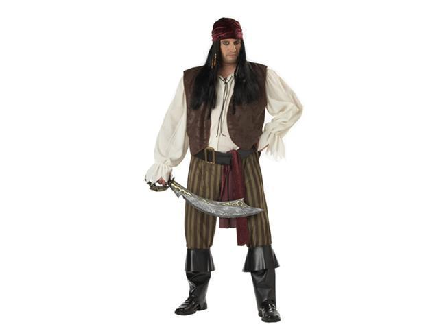 Pirate Costume for Men - Rogue Pirate Big & Tall