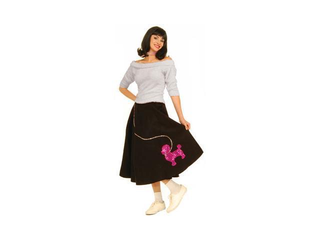 50's Costume for Women - White Sock Hop Top