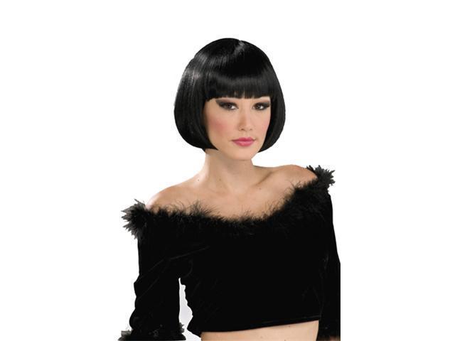 Womens Short Black Wig - Chic Bob Black