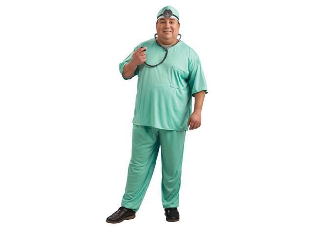Adult Doctor Costume - Plus Size