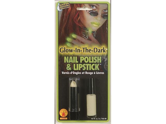 Glow Nail Polish And Lipstick Rubies 18266