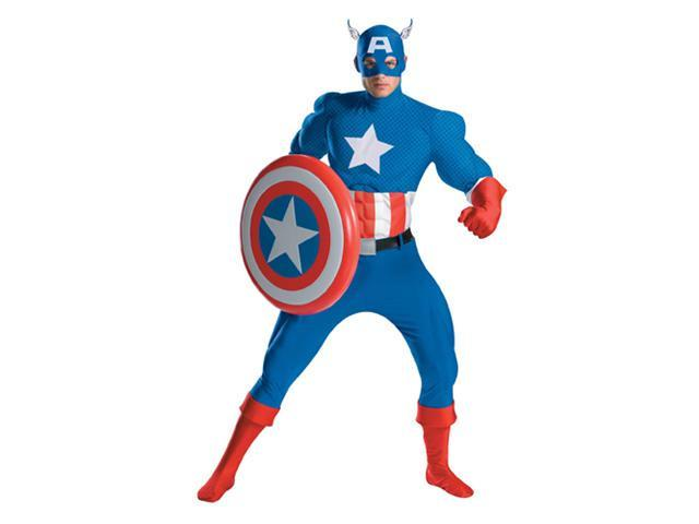 Captain America Ultimate Adult Halloween Costume 42-46