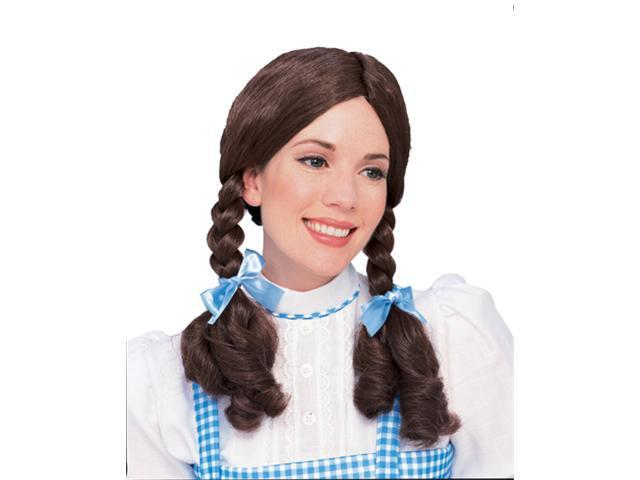 Child Dorothy Wig - Braids Wizard of Oz