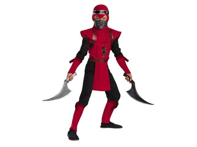 Kid's Red Viper Ninja Deluxe Boy's Costume