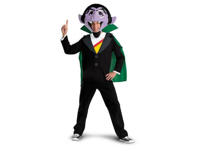 The Count Sesame Street Mens Halloween Costume size XL