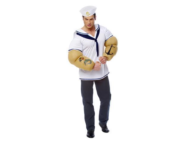 Adult Sailor Shirt Costume Franco American Novelties 32098