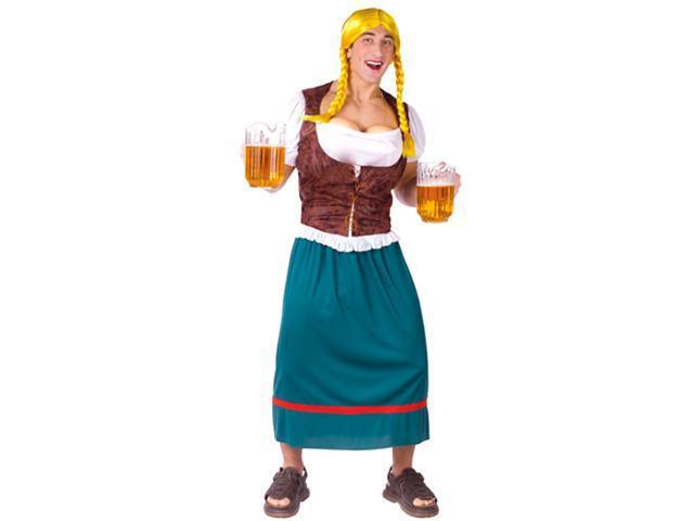 Mens Oktoberfest Costume - Beer Girl