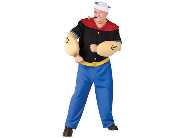 Popeye The Sailor Man Costume - Big & Tall