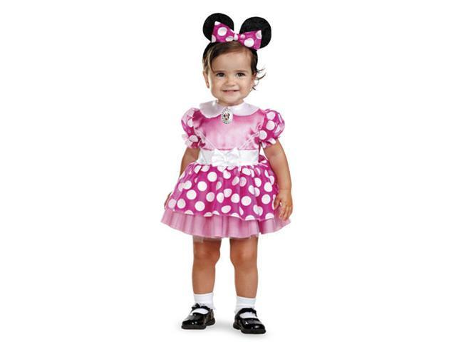 Disney Minnie Mouse Girls Infant 12-18 Months Costume