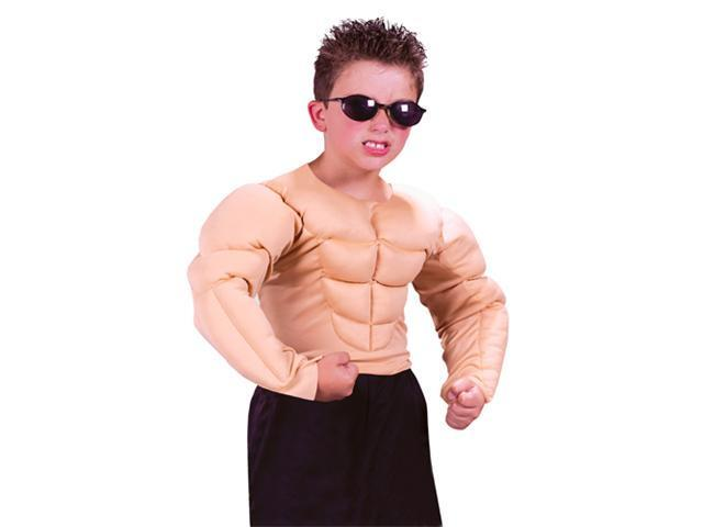 Boys Muscle Shirt Costume