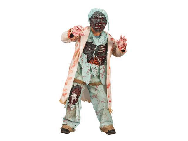 Child Zombie Doctor Costume FunWorld 5957