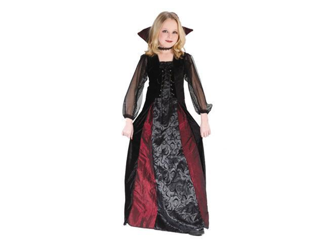 Girls Vampire Costume - Gothic Maiden Vampiress
