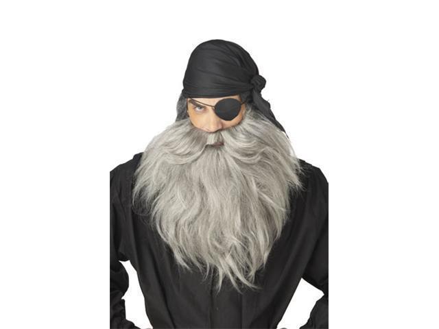 Grey Pirate Beard
