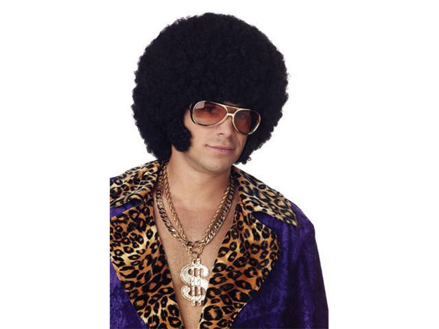 Mens Afro Wig - Afro With Chops