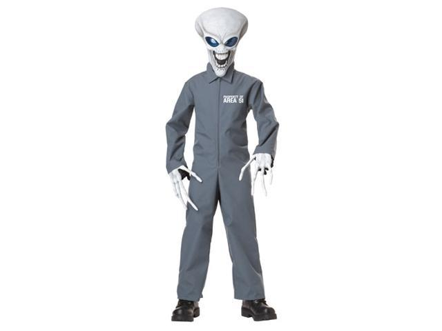 Kids Area 51 Alien Boys Sci Fi Halloween Costume