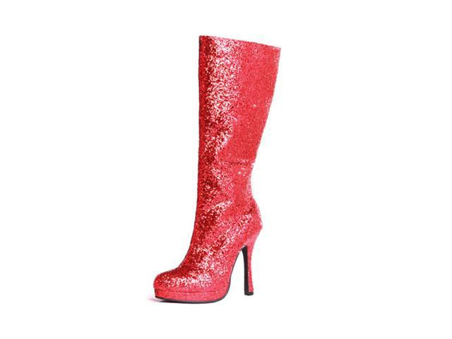 womens glitter knee high boot newegg