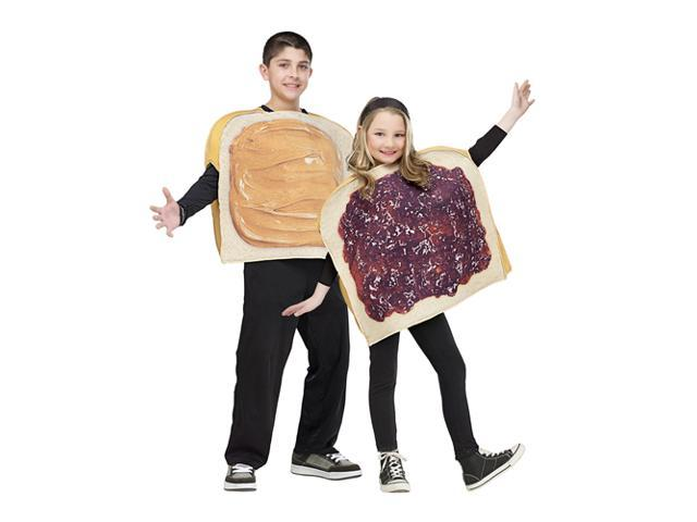 Peanut Butter And Jelly Child Costume