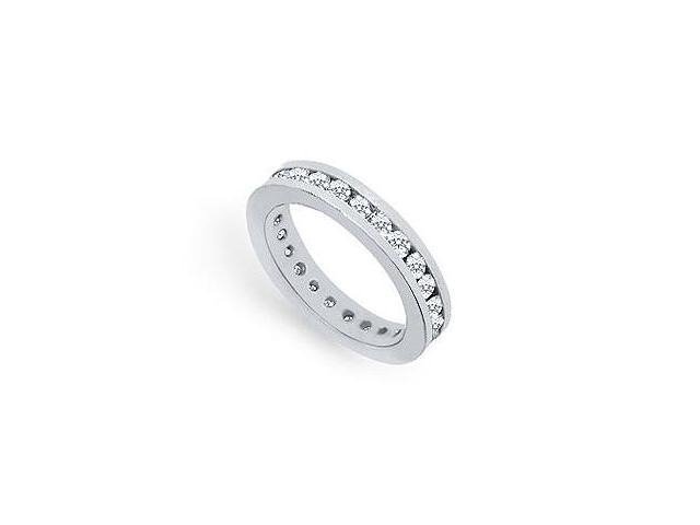 1.5 Carat Platinum Diamond Eternity Band First and Second Anniversary Bands Wedding Rings
