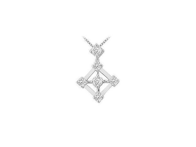 Three Stone Pink Sapphire and Diamond Ring 14K White Gold 0.50 CT TGW