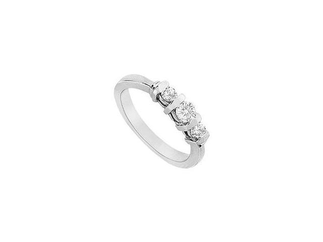 Diamond Engagement Ring 18K White Gold 1.25 CT Diamonds