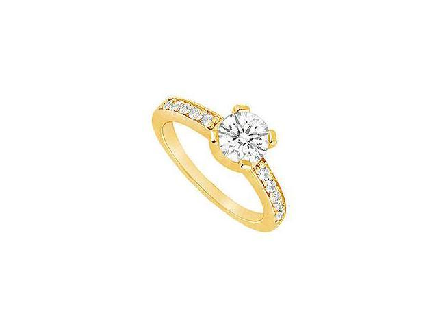 Diamond Engagement Ring Platinum 1.50 CT Diamonds