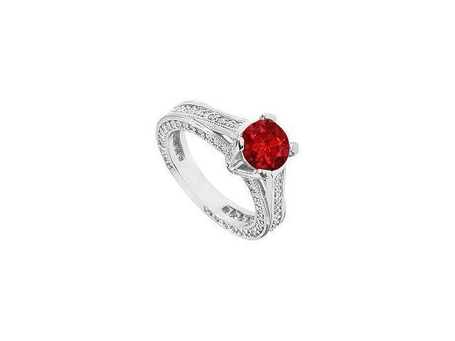 Diamond Heart Ring 14K Yellow Gold 2.00 CT Diamonds
