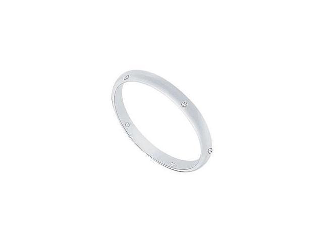 Smoky Quartz and Diamond Ring 14K White Gold 1.00 CT TGW