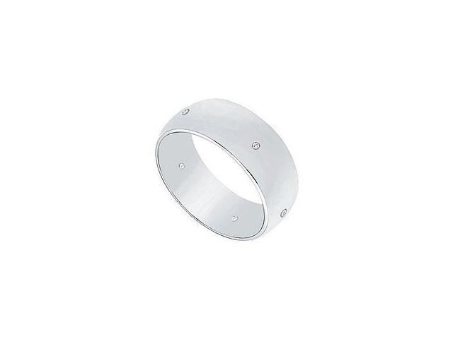 Sapphire and Diamond Ring 14K White Gold 1.50 CT TGW