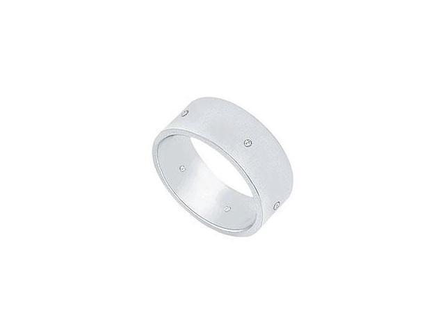 Citrine and Diamond Ring 14K White Gold 1.50 CT TGW