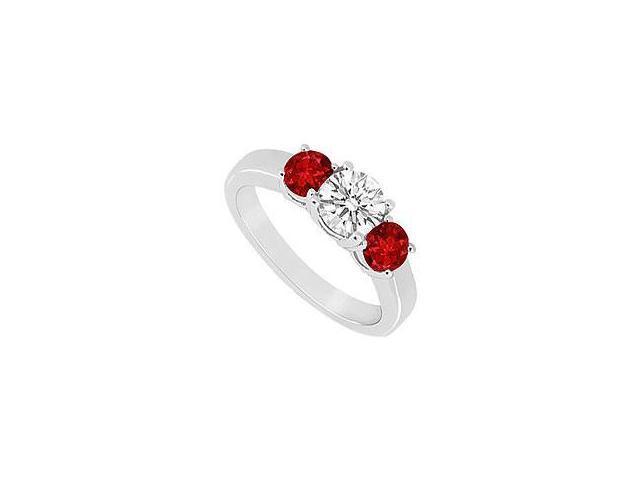 Peridot and Diamond Ring 14K White Gold 1.50 CT TGW