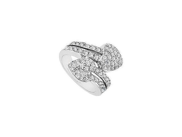 Emerald and Diamond Engagement Ring 14K Yellow Gold 1.50 CT TGW