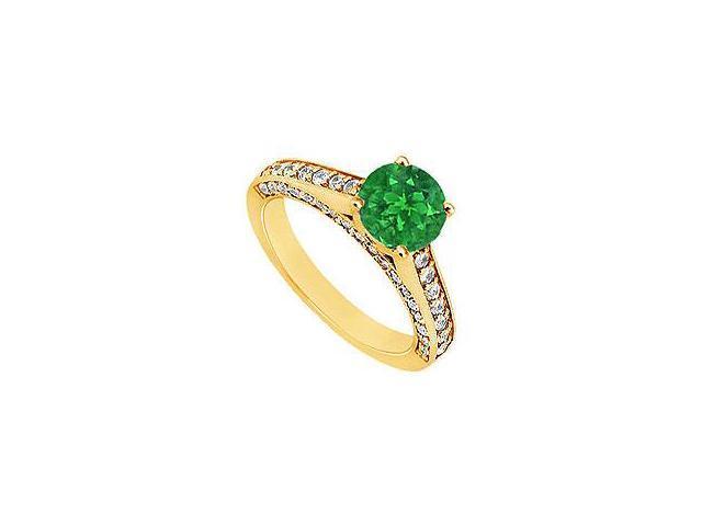 Diamond Circle Ring 14K White Gold 1.00 CT Diamonds
