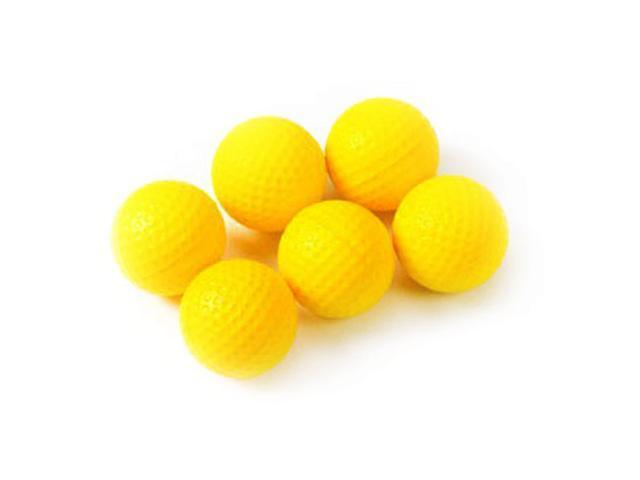 PU Foam Practice Golf Balls - 6 pack