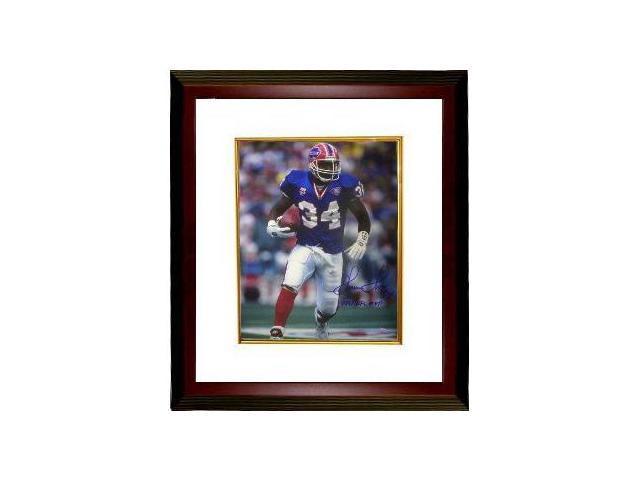 Thurman Thomas signed Buffalo Bills 16x20 Photo Custom Framed 1991 MVP