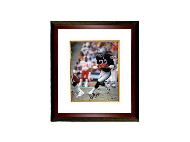 Marcus Allen signed Raiders 16x20 Photo HOF 03 Custom Framed