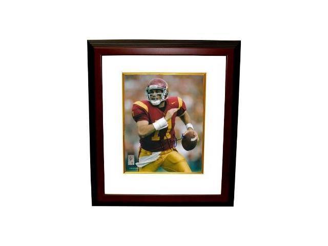 Matt Leinart signed USC Trojans 8x10 Photo Custom Framed- Leinart Hologram
