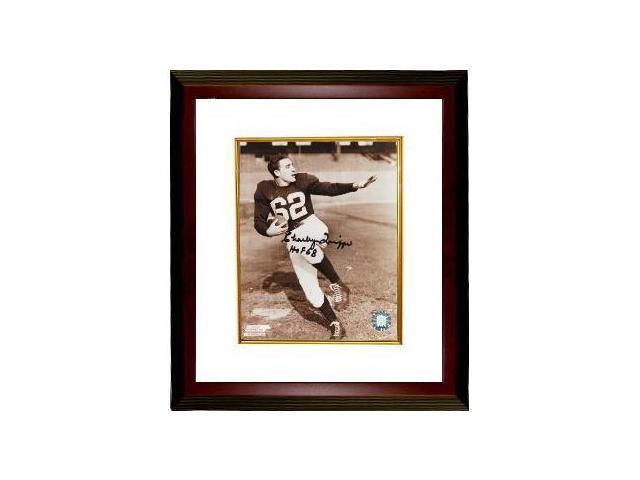 Charley Trippi signed Chicago Cardinals 8x10 Photo Custom Framed HOF 68