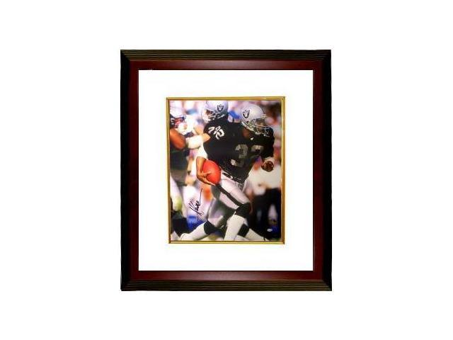 Marcus Allen signed Raiders 16x20 Photo Custom Framed