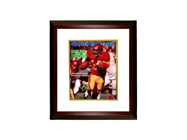 Marcus Allen signed USC Trojans 16x20 Sports Illustrated Heisman 81 LTD Custom Framed